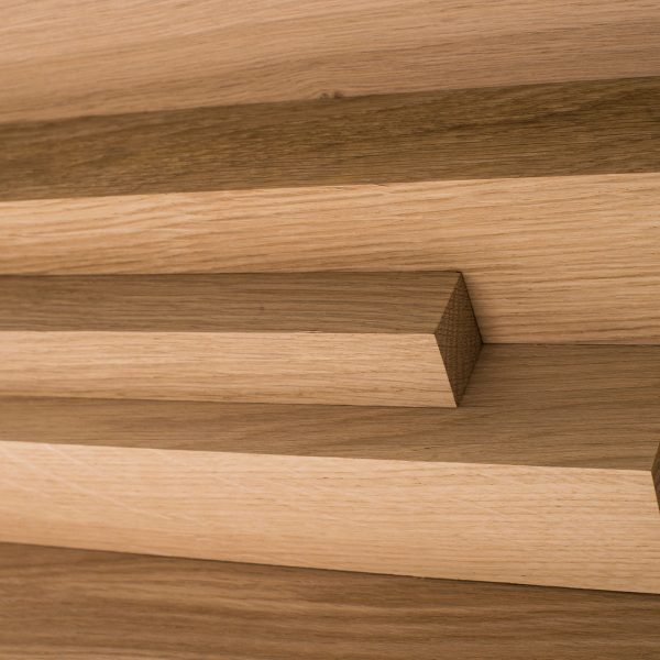 Pine wood cut to various lengths