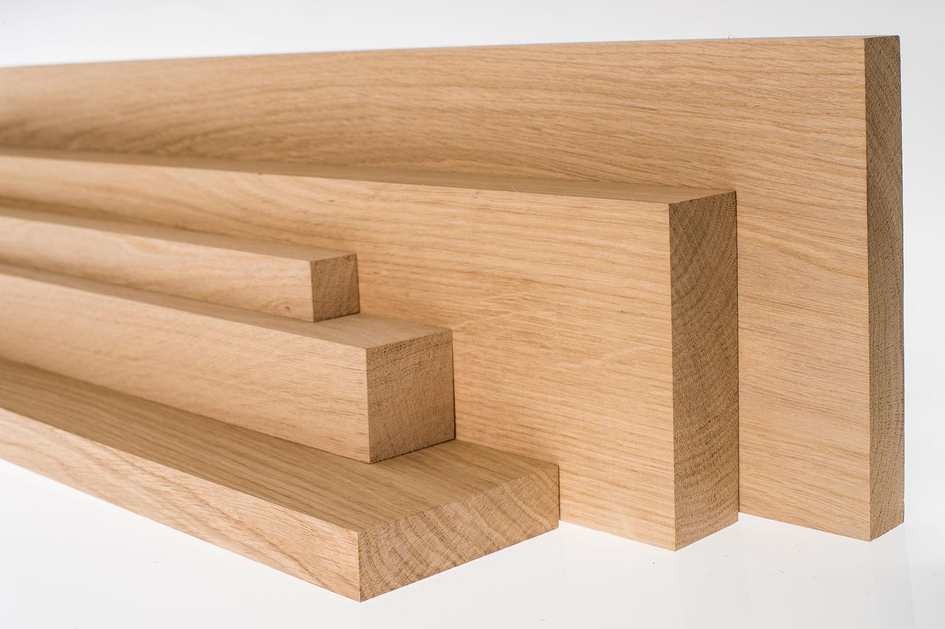 Oak Wood Lumber ~ European oak wood cut to order