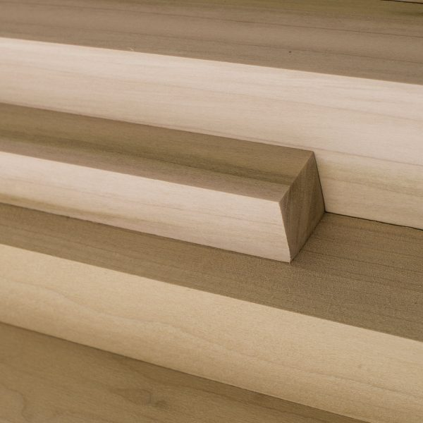 Tulip wood cut to various lengths